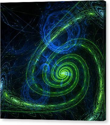 Outer Space Canvas Print by Steve K