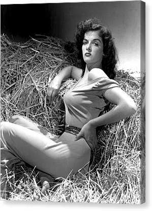 Outlaw, Jane Russell, Photo By George Canvas Print by Everett