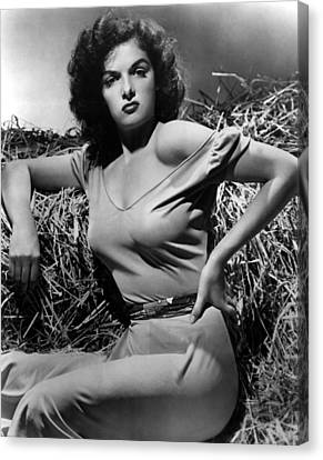 Outlaw, The, Jane Russell, 1943 Canvas Print by Everett