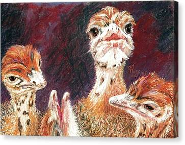 Outsdoorn Babes Canvas Print by Vicki Ross