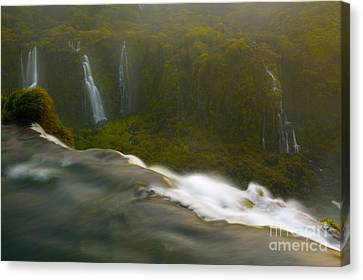 Over The Edge Canvas Print by Keith Kapple