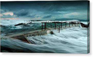 Over The Edge Canvas Print by Mark Lucey