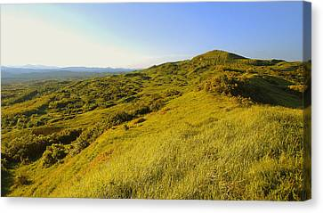 Over The Hills Canvas Print by Bogdan M Nicolae