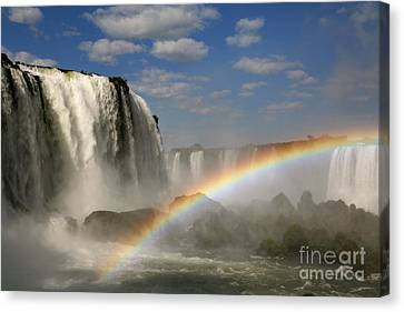 Natural Resources Canvas Print - Over The Rainbow by Keith Kapple