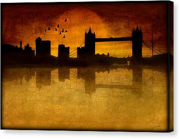 Over The Tower Bridge Canvas Print by Tom York Images