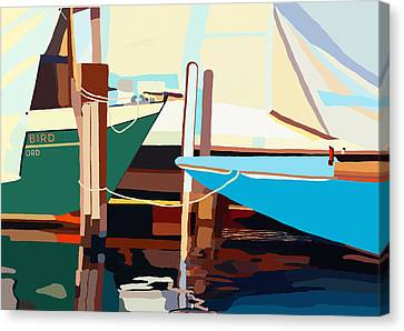 Oxford Harbor Canvas Print