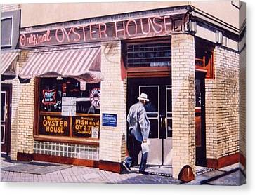 Oyster  House Canvas Print