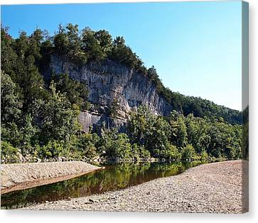 Ozark Bluffs Canvas Print by Jim Goldseth