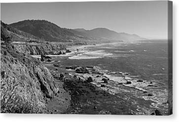 Pacific Coast Highway Coast Canvas Print by Twenty Two North Photography