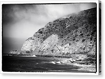 Pacific Coast Highway View Canvas Print by John Rizzuto
