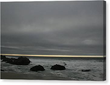 Pacific Ocean At Bodega California Canvas Print