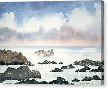 Pacific Ocean Canvas Print