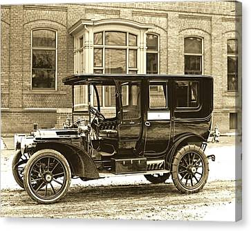 Packard Motor Car Company Automobile 1910 Canvas Print by Padre Art