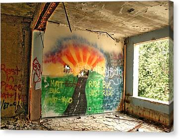 Paint Me An Escape Canvas Print by Heather  Boyd