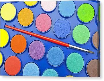 Paintbox Canvas Print by Joana Kruse