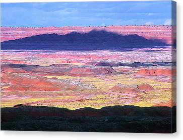 Painted Desert Cloud Shadow Canvas Print