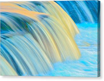 Painted Falls Canvas Print