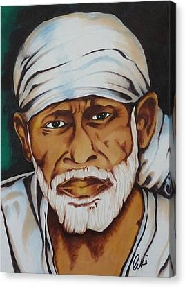 Painting With Markers Canvas Print by Armin Irani