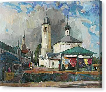 Paints Of Old Suzdal Canvas Print