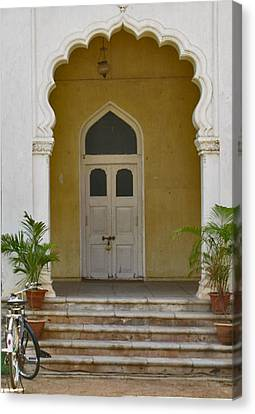 Canvas Print featuring the photograph Palace Door by David Pantuso