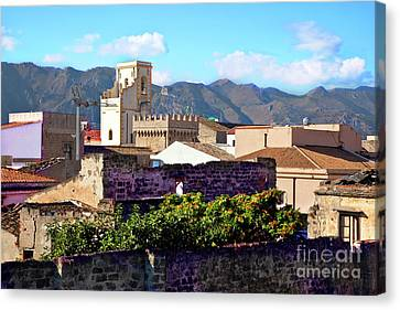 Palermo View Canvas Print by Madeline Ellis
