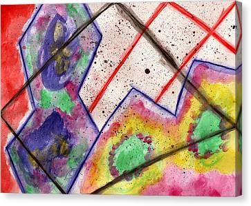 Palette Unleashed Canvas Print