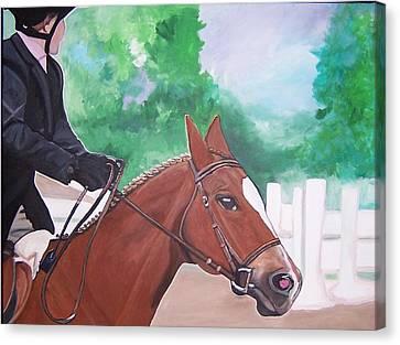 Palgrave Canvas Print by Krista Ouellette