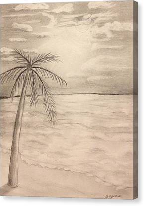 Palm Breeze Canvas Print