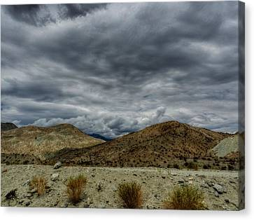 Palm Springs Hdr 017 Canvas Print by Lance Vaughn