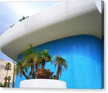 Palm Springs Modernism Canvas Print by Randall Weidner
