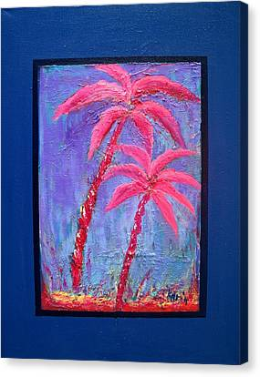 Palm Tree Series 14 Canvas Print