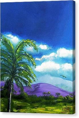 Palma Real Canvas Print by Maria Soto Robbins