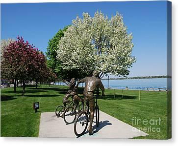 Palmer Park In Spring 2 Canvas Print