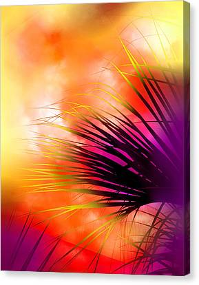 Palmetto Canvas Print