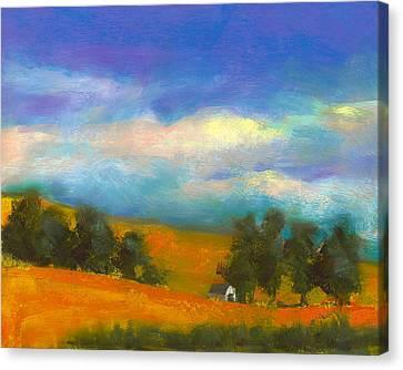 Palouse Wheat Fields Canvas Print by David Patterson