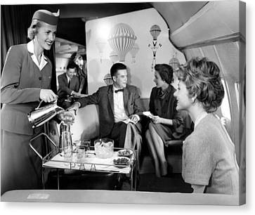 Pan Am Airlines Introduces The Boeing Canvas Print