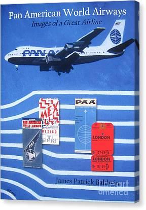 Pan American World Airways Canvas Print by Lesley Giles