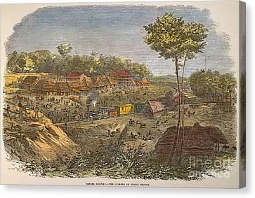 Panama: The Culebra, 1855 Canvas Print by Granger