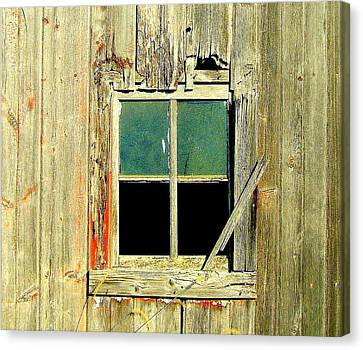 Paneless Canvas Print by Claude Oesterreicher