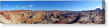 Panoramic Maze Canvas Print by Scotts Scapes