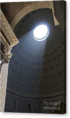 Pantheon. Rome Canvas Print by Bernard Jaubert