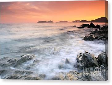 Panwa Beach Phuket Thailand Canvas Print by Anusorn Phuengprasert nachol