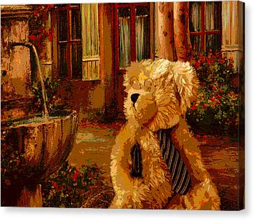 Web Gallery Canvas Print - Papa Bear by David Alvarez