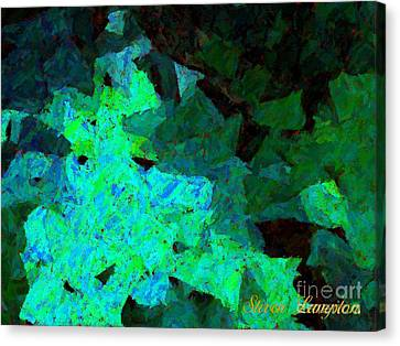 Canvas Print featuring the painting Paper Light by Steven Lebron Langston