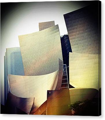 Paper Shapes Canvas Print by Kevin Bergen