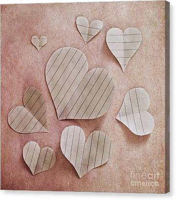 Papier D'amour Canvas Print