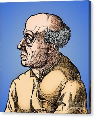 Paracelsus, Swiss Polymath Canvas Print by Science Source