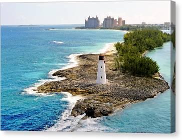 Atlantis Canvas Print - Paradise Island Series II by Kathy Jennings