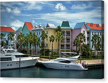 Paradise Island Style Canvas Print by Steven Sparks