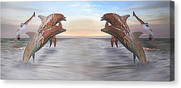 Parallels  Canvas Print by Betsy Knapp